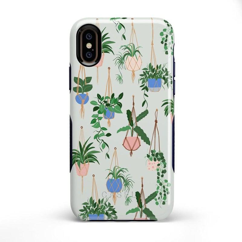 Hanging Around | Potted Plants Case iPhone Case get.casely Bold iPhone XS Max