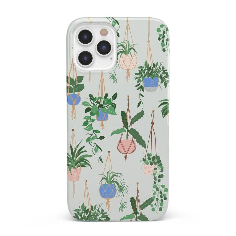 Hanging Around | Potted Plants Case iPhone Case get.casely Classic iPhone 12 Pro Max