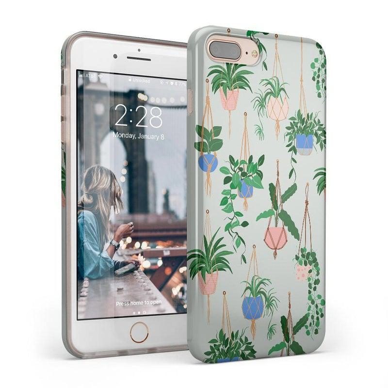 Hanging Around | Potted Plants Case iPhone Case get.casely Classic iPhone 8 Plus