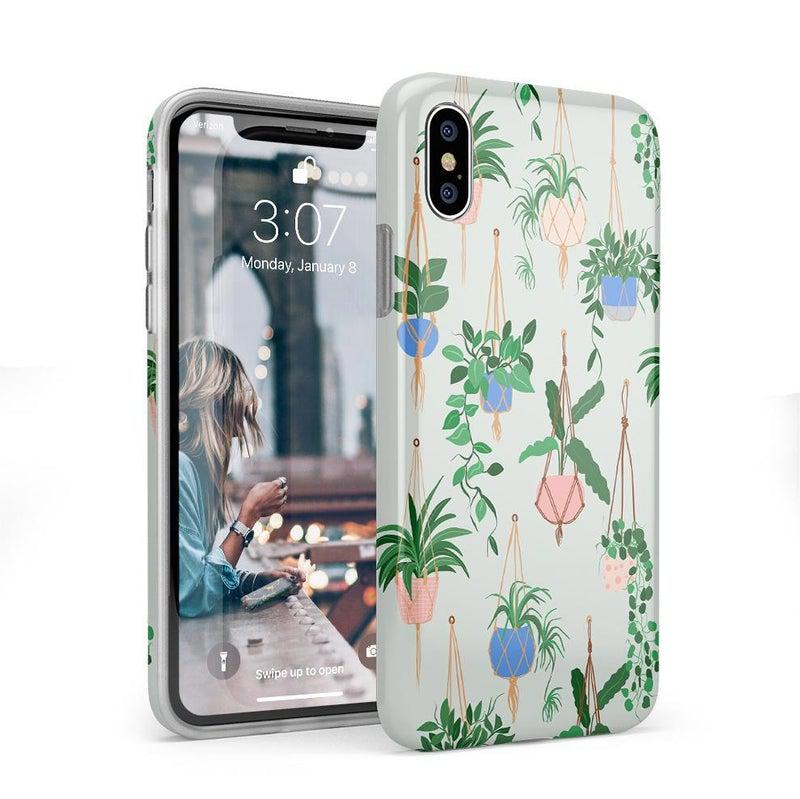 Hanging Around | Potted Plants Case iPhone Case get.casely Classic iPhone X / XS