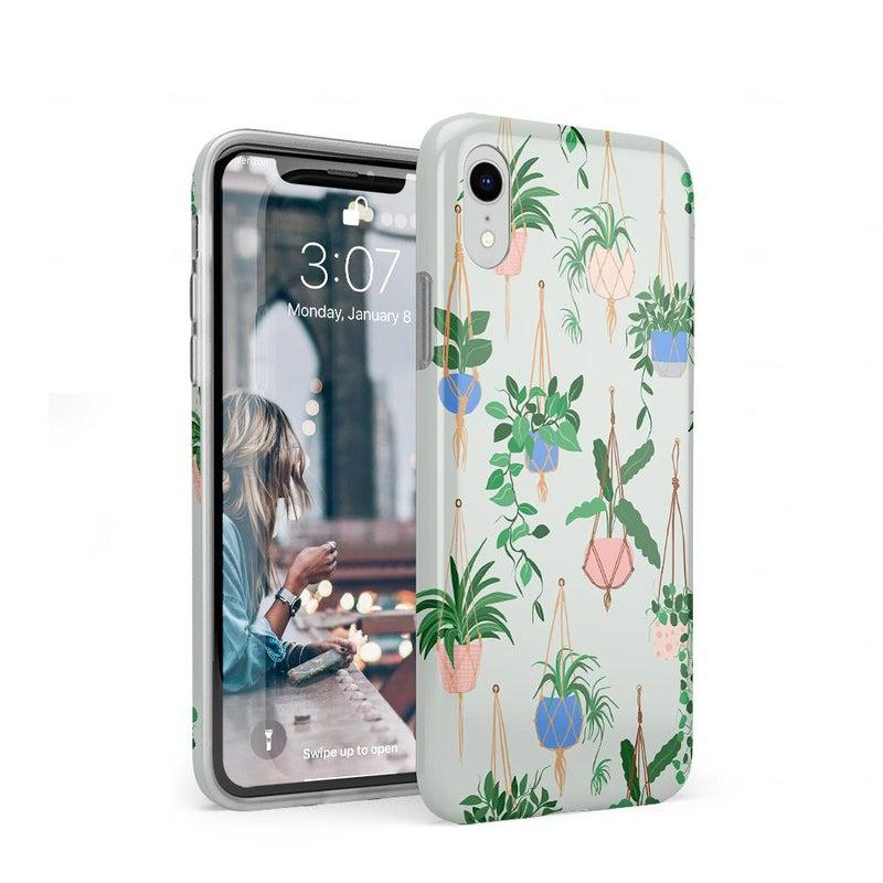 Hanging Around | Potted Plants Case iPhone Case get.casely Classic iPhone XR