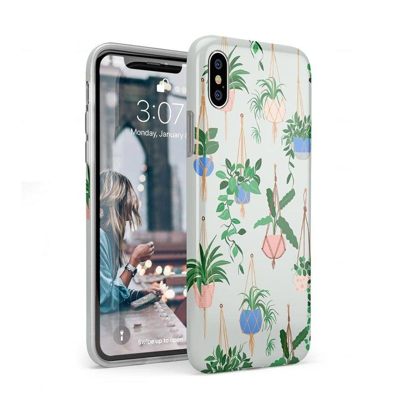 Hanging Around | Potted Plants Case iPhone Case get.casely Classic iPhone XS Max
