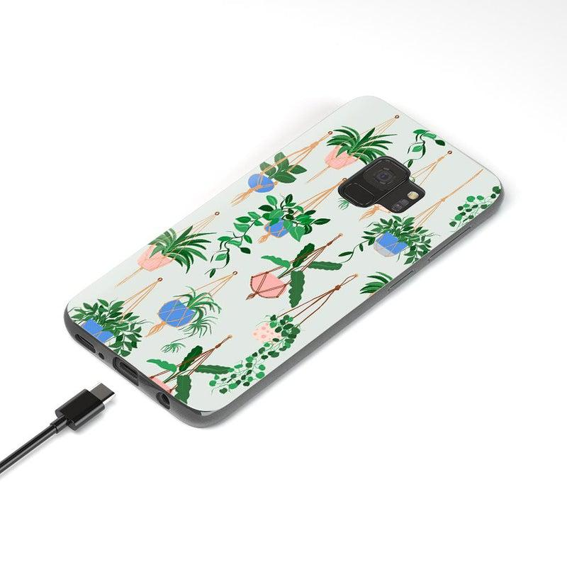 Hanging Around | Potted Plants Samsung Case Samsung Case get.casely