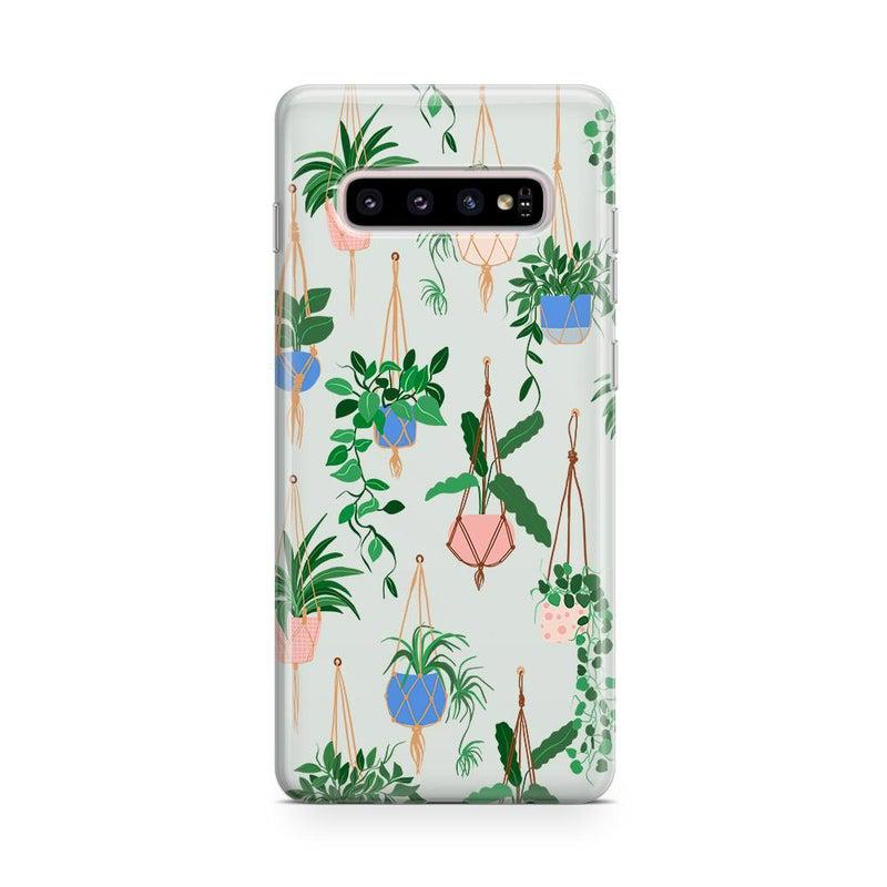 Hanging Around | Potted Plants Samsung Case Samsung Case get.casely Classic Galaxy S10