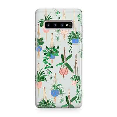 Hanging Around | Potted Plants Samsung Case Samsung Case get.casely Classic Galaxy S9