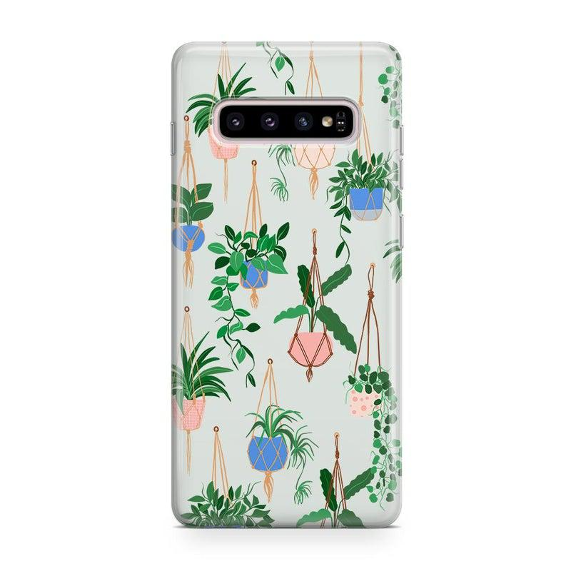Hanging Around | Potted Plants Samsung Case Samsung Case get.casely Classic Galaxy S10 Plus