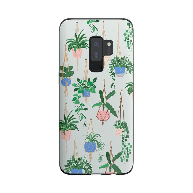Hanging Around | Potted Plants Samsung Case Samsung Case get.casely Classic Galaxy S9 Plus