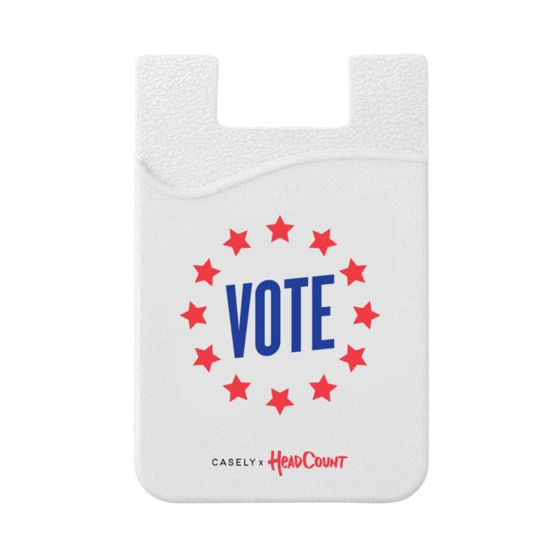 Headcount x Casely | VOTE Silicon Wallet Wallet get.casely
