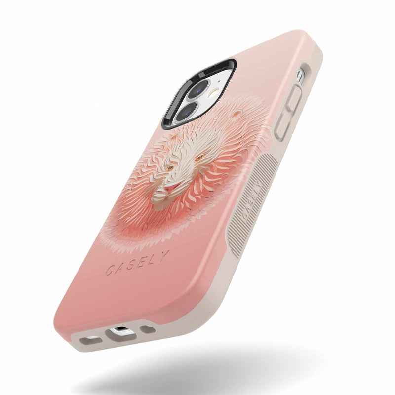 Hear Me Roar | Blush Lion Case iPhone Case get.casely