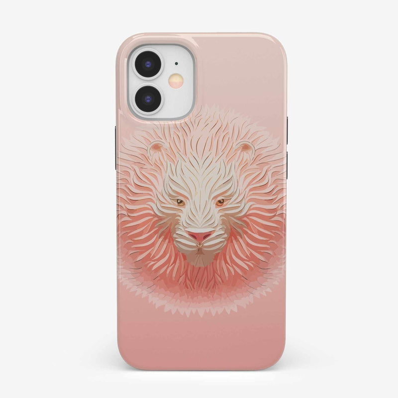 Hear Me Roar | Blush Lion Case iPhone Case get.casely Classic iPhone 12 Mini