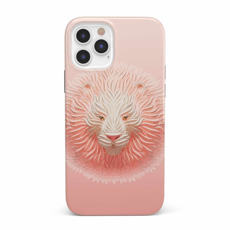 Hear Me Roar | Blush Lion Case iPhone Case get.casely Classic iPhone 12 Pro