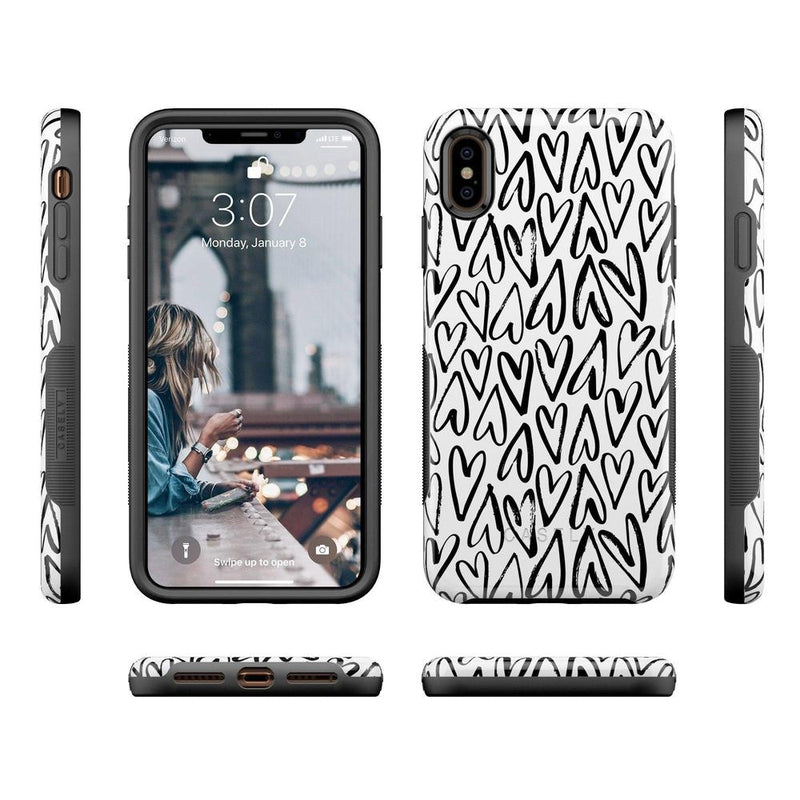Heart Throb | Endless Hearts Case iPhone Case Get.Casely