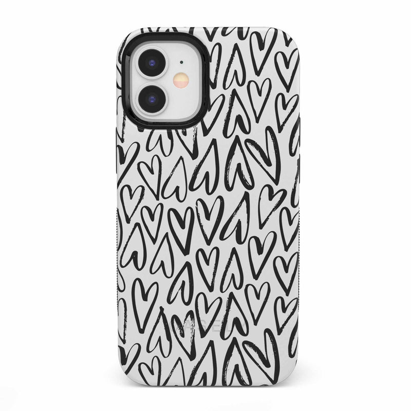 Heart Throb | Endless Hearts Case iPhone Case get.casely Bold iPhone 12 Mini