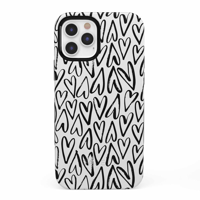 Heart Throb | Endless Hearts Case iPhone Case get.casely Bold iPhone 12 Pro