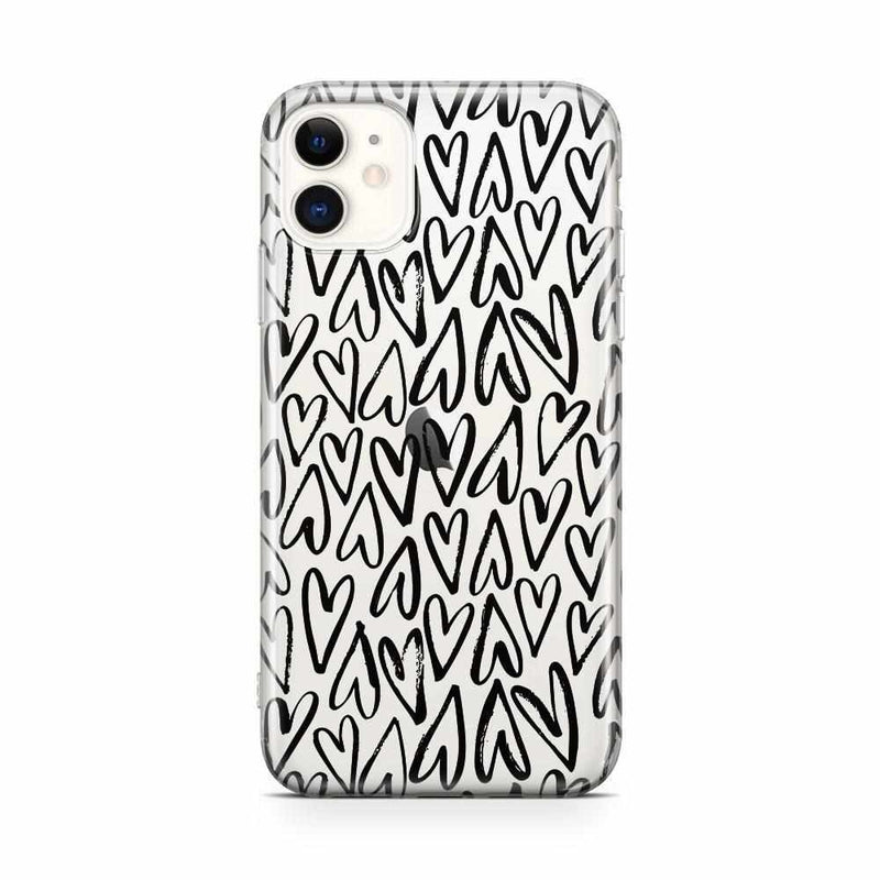 Heart Throb | Endless Hearts Case iPhone Case Get.Casely Classic iPhone 11