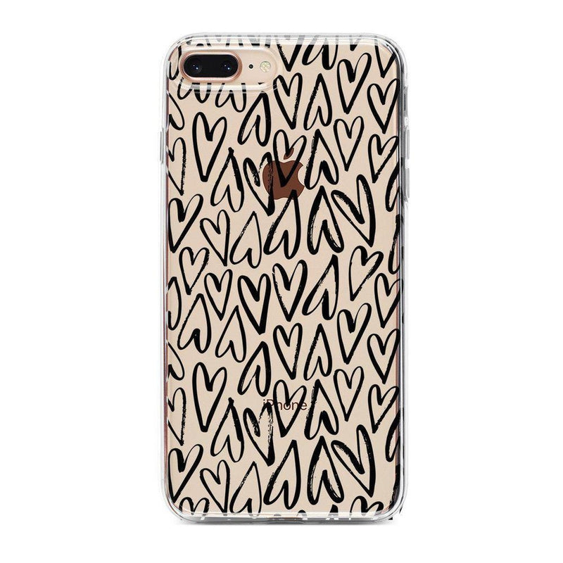 Heart Throb | Endless Hearts Case iPhone Case Get.Casely Classic iPhone 8 Plus