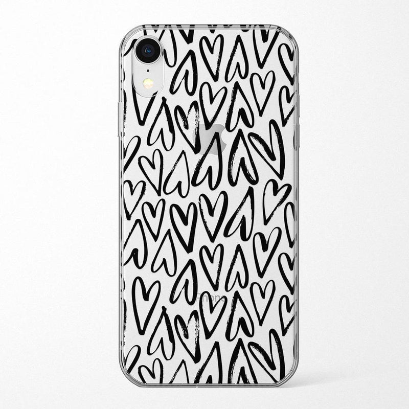 Heart Throb | Endless Hearts Case iPhone Case Get.Casely Classic iPhone XR