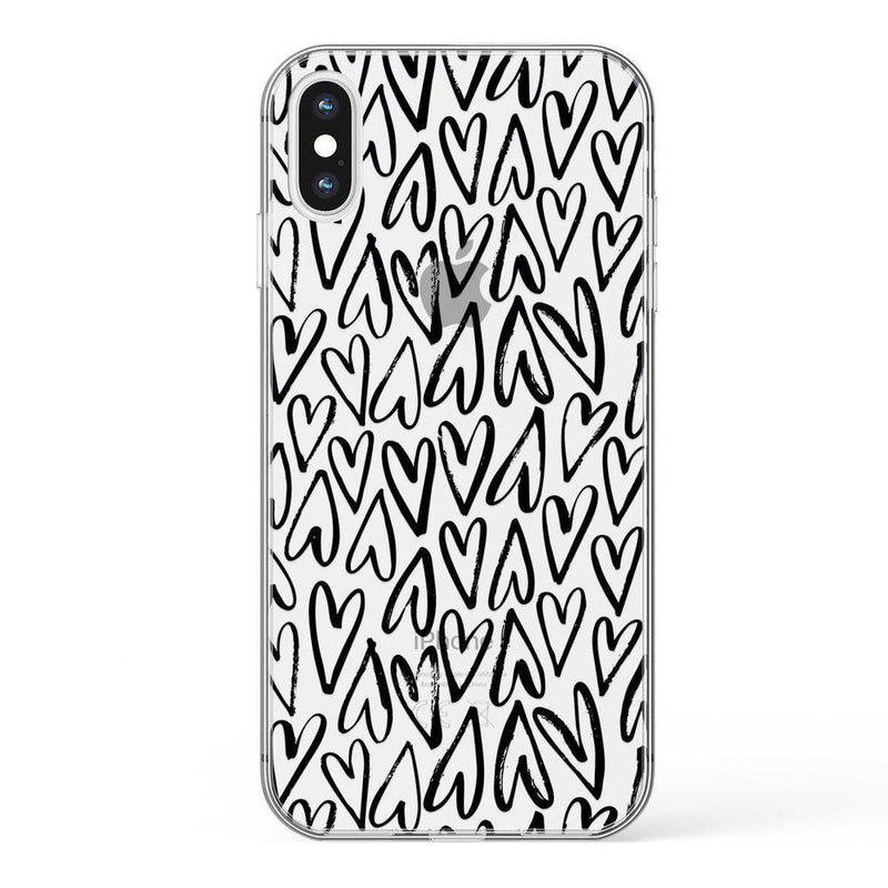 Heart Throb | Endless Hearts Case iPhone Case Get.Casely Classic iPhone XS Max