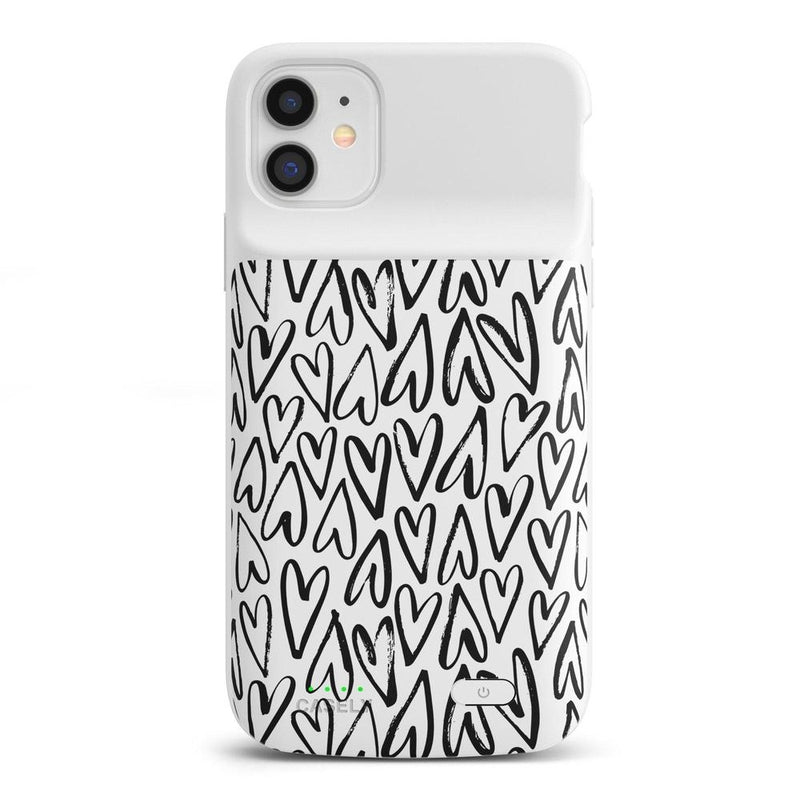 Heart Throb | Endless Hearts Case iPhone Case get.casely Power 2.0 iPhone 11