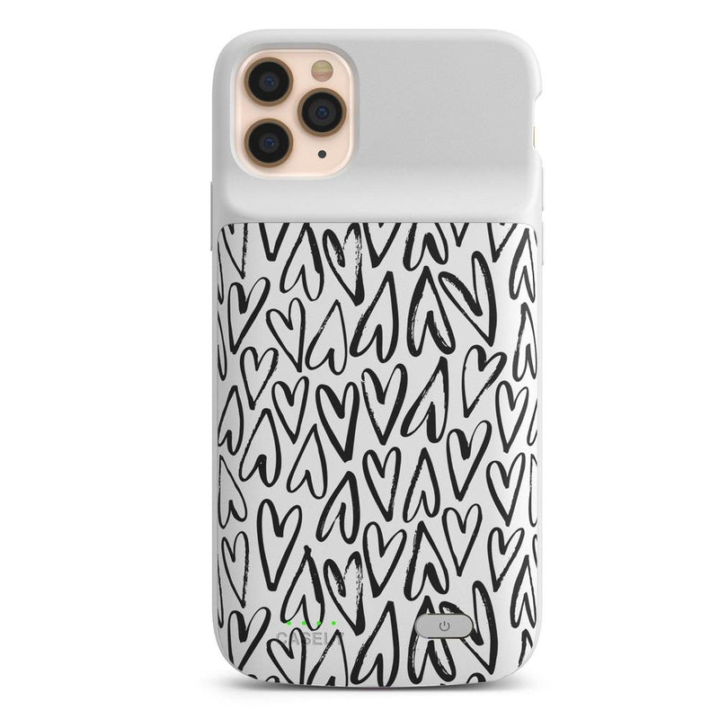 Heart Throb | Endless Hearts Case iPhone Case get.casely Power 2.0 iPhone 11 Pro Max