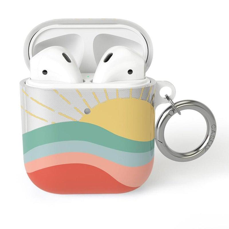 Here Comes the Sun | Colorblock Sunset AirPods Case AirPods Case CASELY AirPods Case
