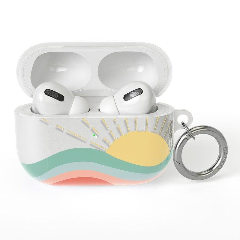 Here Comes the Sun | Colorblock Sunset AirPods Case AirPods Case CASELY AirPods Pro Case