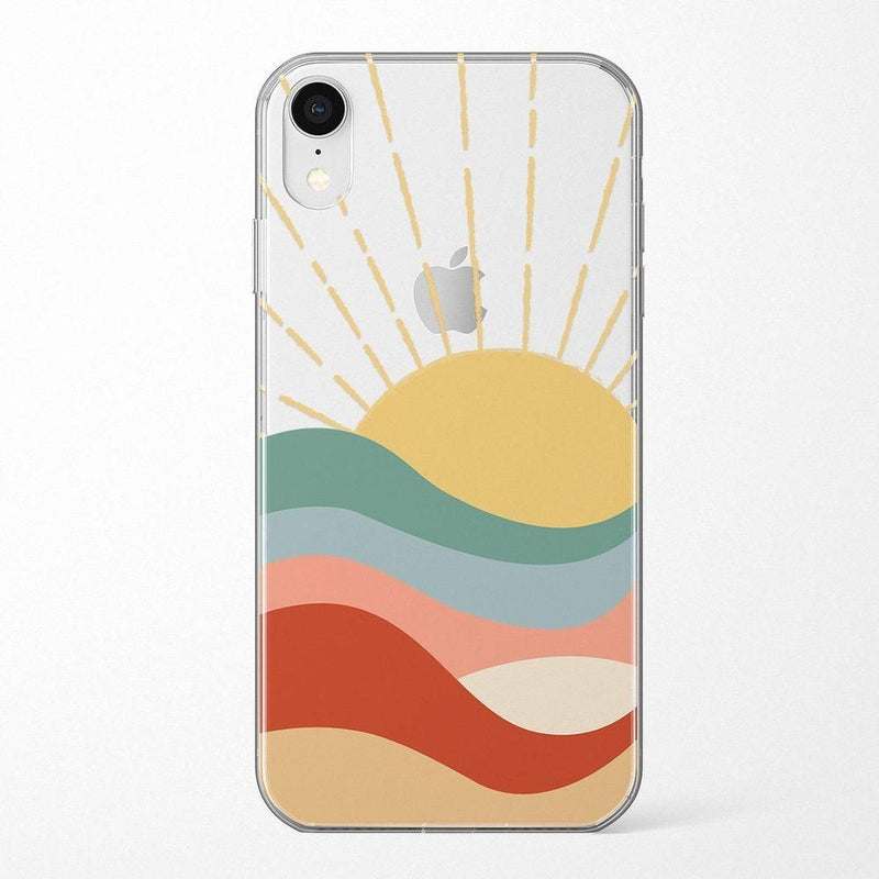 Here Comes the Sun | Colorblock Sunset Case iPhone Case Get.Casely Classic iPhone XR