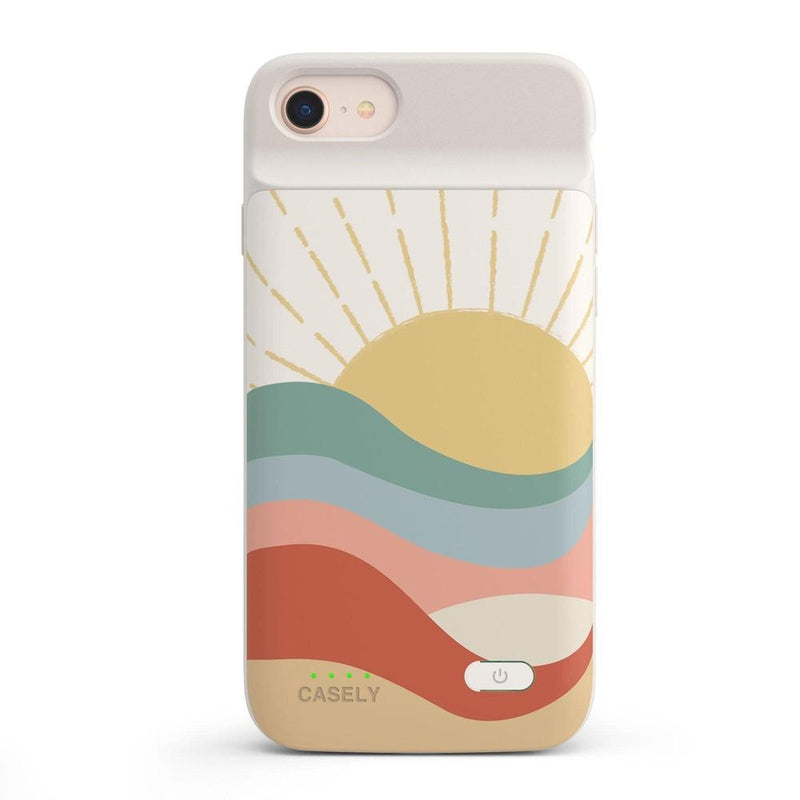 Here Comes the Sun | Colorblock Sunset Case iPhone Case get.casely Power 2.0 iPhone SE (2020)