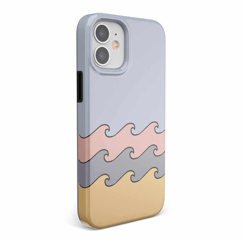 High Tide Layered Ocean Waves Case iPhone Case get.casely