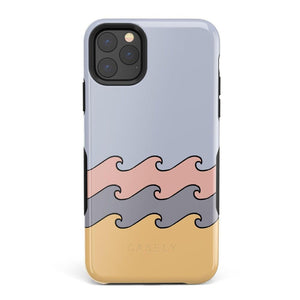 High Tide Layered Ocean Waves Case iPhone Case get.casely Bold iPhone 11 Pro