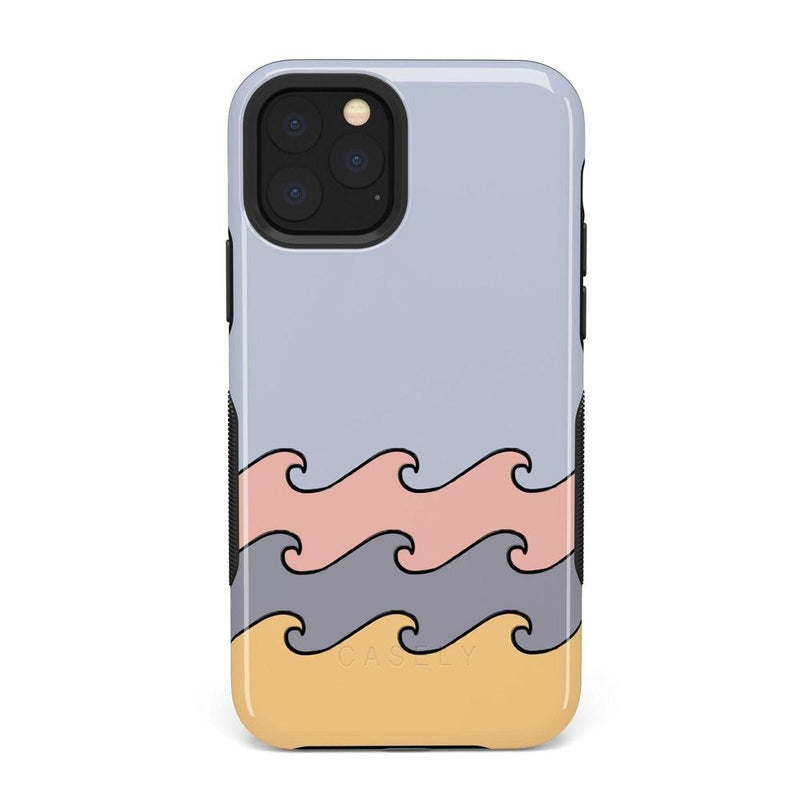 High Tide Layered Ocean Waves Case iPhone Case get.casely Bold iPhone 11 Pro Max