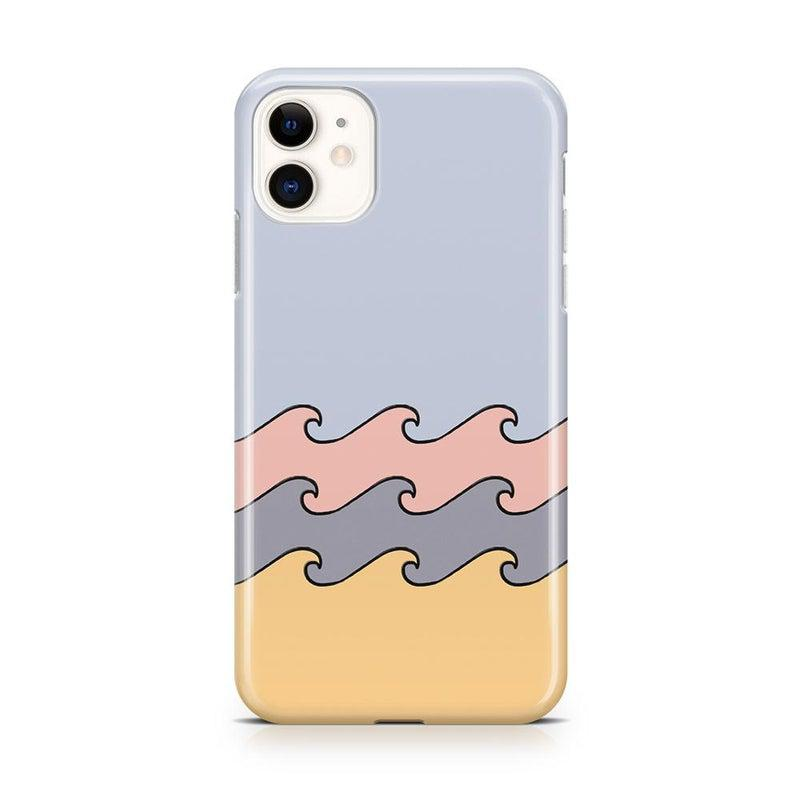 High Tide Layered Ocean Waves Case iPhone Case get.casely Classic iPhone 11