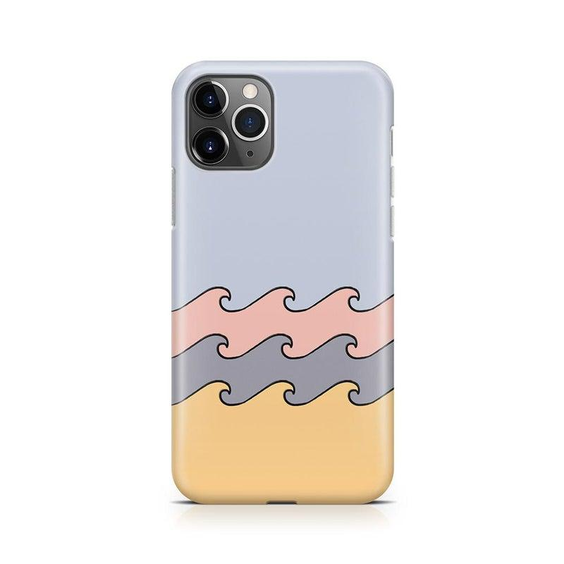 High Tide Layered Ocean Waves Case iPhone Case get.casely Classic iPhone 11 Pro