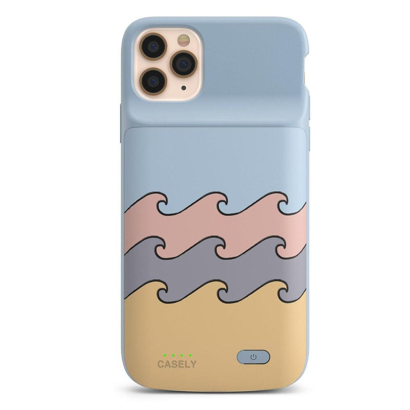 High Tide Layered Ocean Waves Case iPhone Case get.casely Power 2.0 iPhone 11 Pro Max