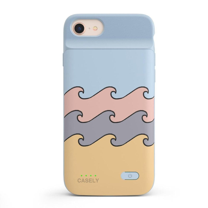 High Tide Layered Ocean Waves Case iPhone Case get.casely Power 2.0 iPhone SE (2020)