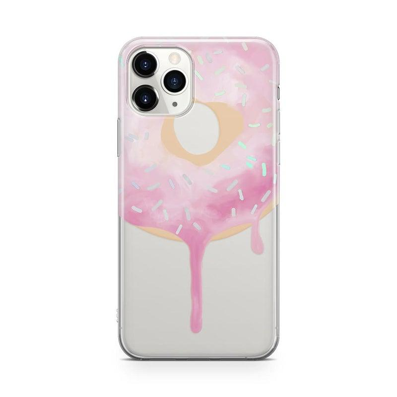 Holographic Donut Clear Case iPhone Case Get.Casely Classic iPhone 11 Pro