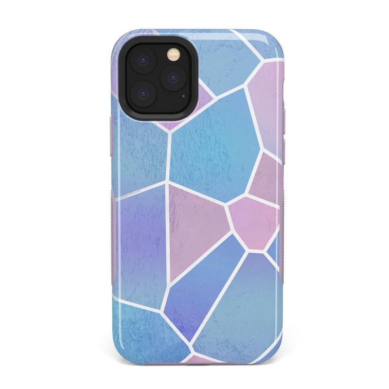 Holographic Metallic Stained Glass Marble Case iPhone Case Get.Casely Bold iPhone 11 Pro Max