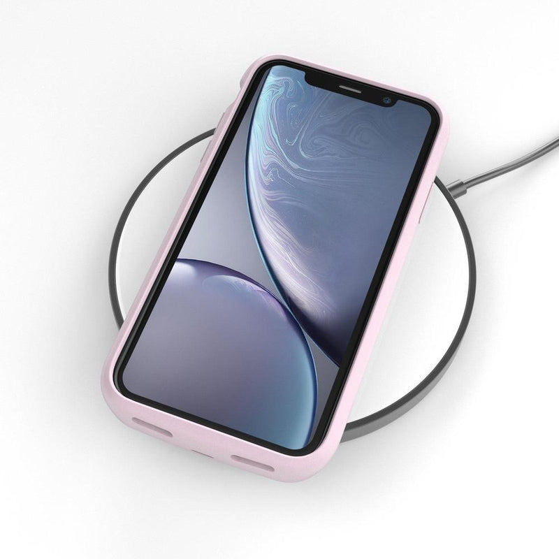 Hot Pink Marble Battery-Powered Charging Case iPhone Case get.casely