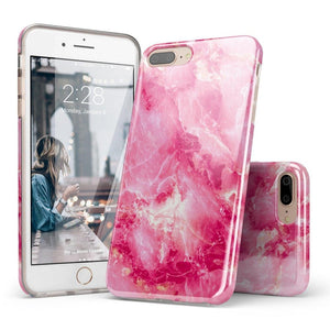 Hot Pink Marble Case iPhone Case Get.Casely