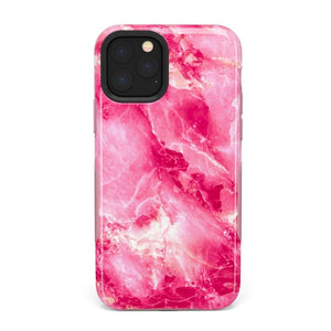 Hot Pink Marble Case iPhone Case Get.Casely Bold iPhone 11