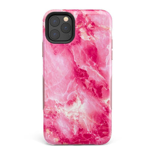 Hot Pink Marble Case iPhone Case Get.Casely Bold iPhone 11 Pro