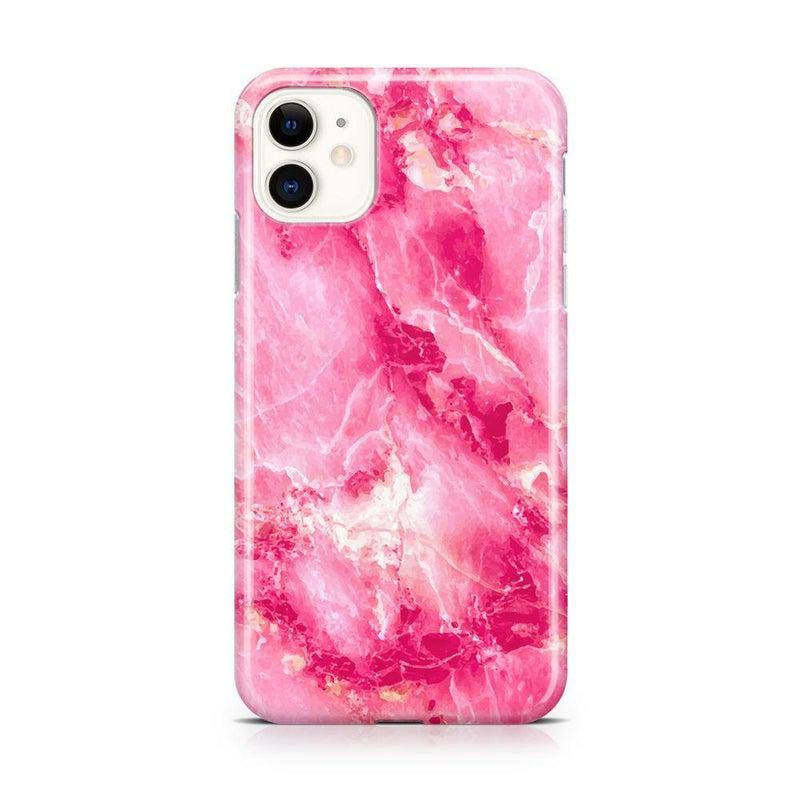 Hot Pink Marble Case iPhone Case Get.Casely Classic iPhone 11