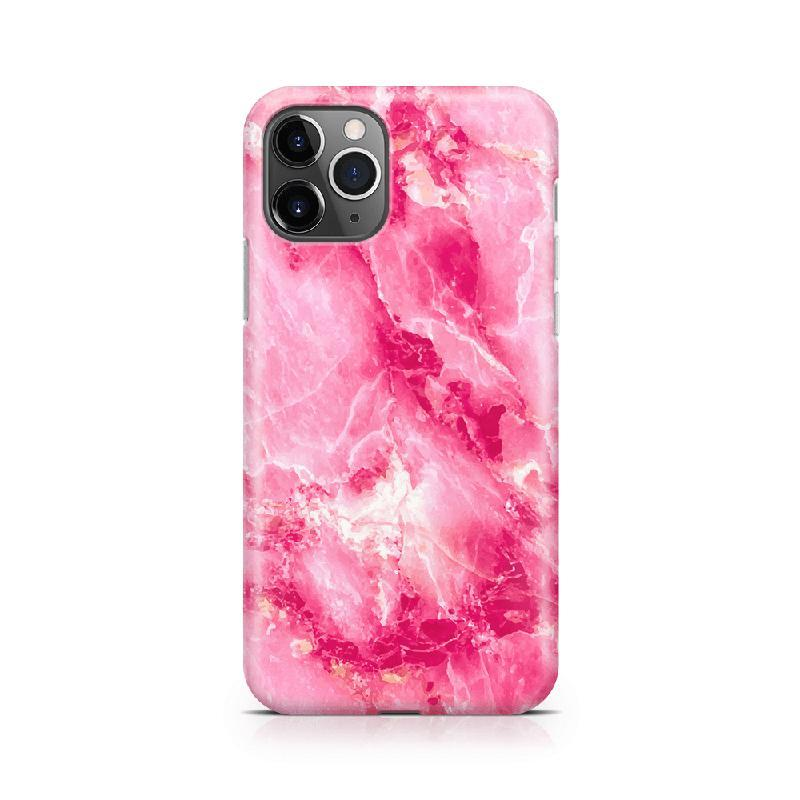 Hot Pink Marble Case iPhone Case Get.Casely Classic iPhone 11 Pro
