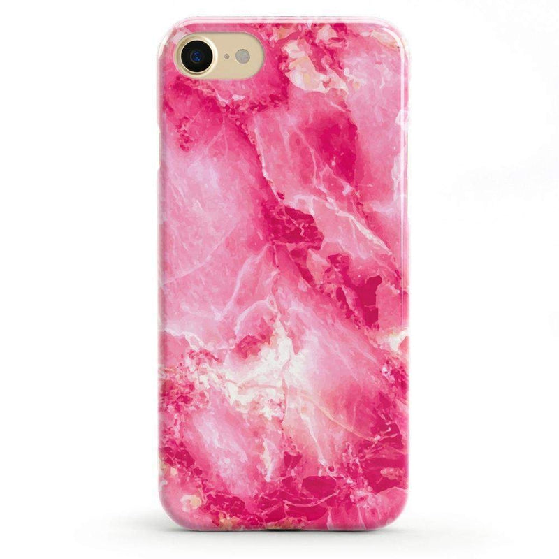 Hot Pink Marble Case iPhone Case Get.Casely Classic iPhone 6/6s