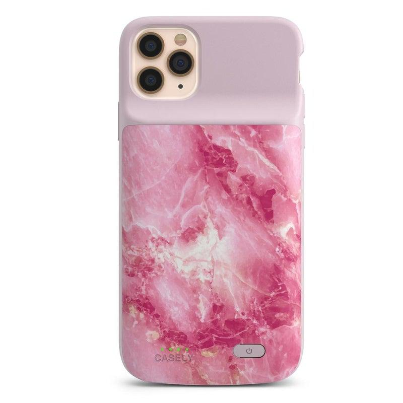 Hot Pink Marble Case iPhone Case get.casely Power 2.0 iPhone 12 Pro