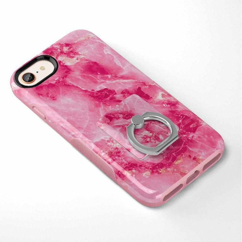 Hot Pink Marble Phone Ring Phone Ring get.casely
