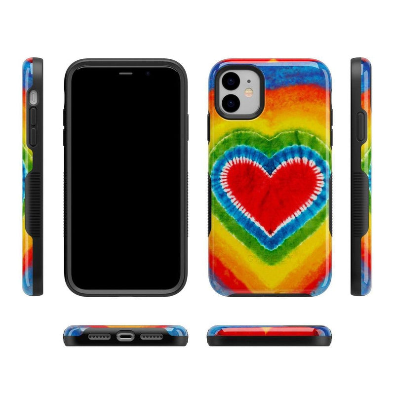 I Heart Tie Dye iPhone Case iPhone Case Get.Casely