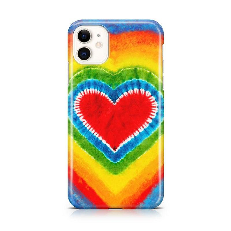 I Heart Tie Dye iPhone Case iPhone Case Get.Casely Classic iPhone 11