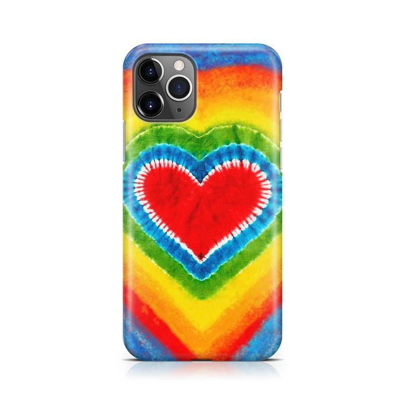 I Heart Tie Dye iPhone Case iPhone Case Get.Casely Classic iPhone 11 Pro Max