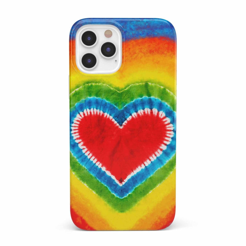 I Heart Tie Dye iPhone Case iPhone Case get.casely Classic iPhone 12 Pro